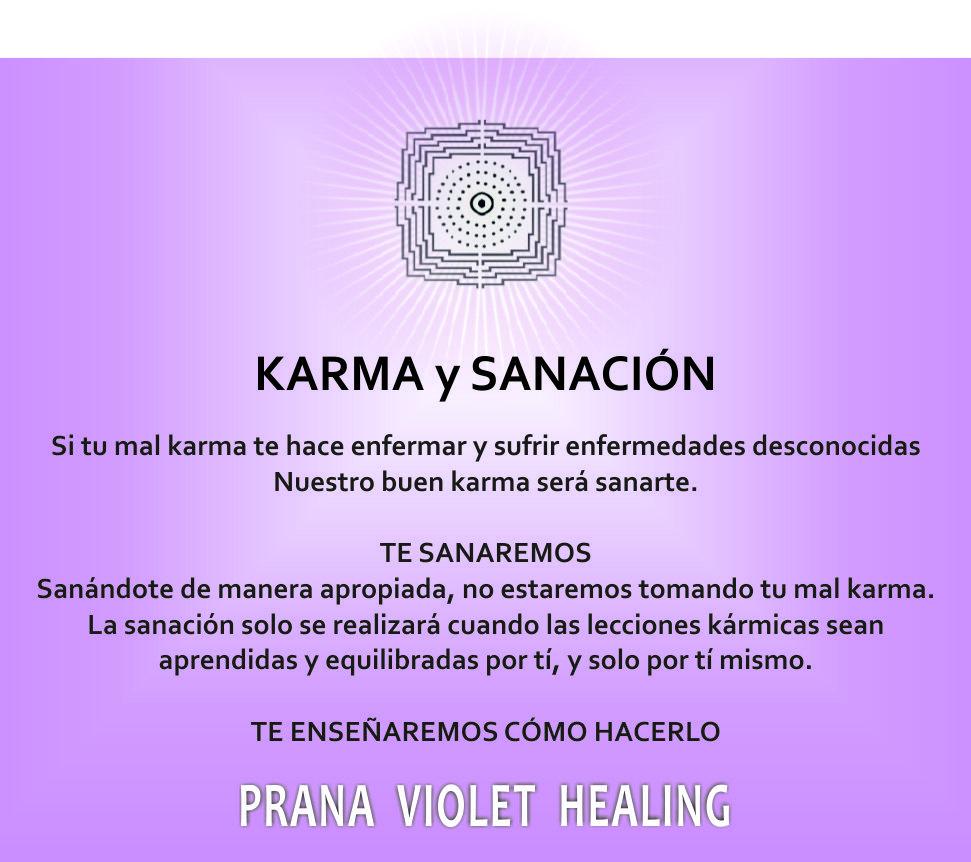karma y sanacion