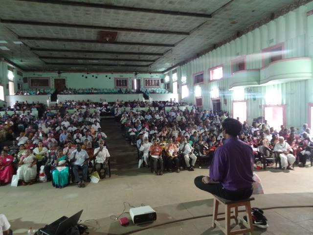 Tirunelveli TamilNadu, India, Febrero 2015