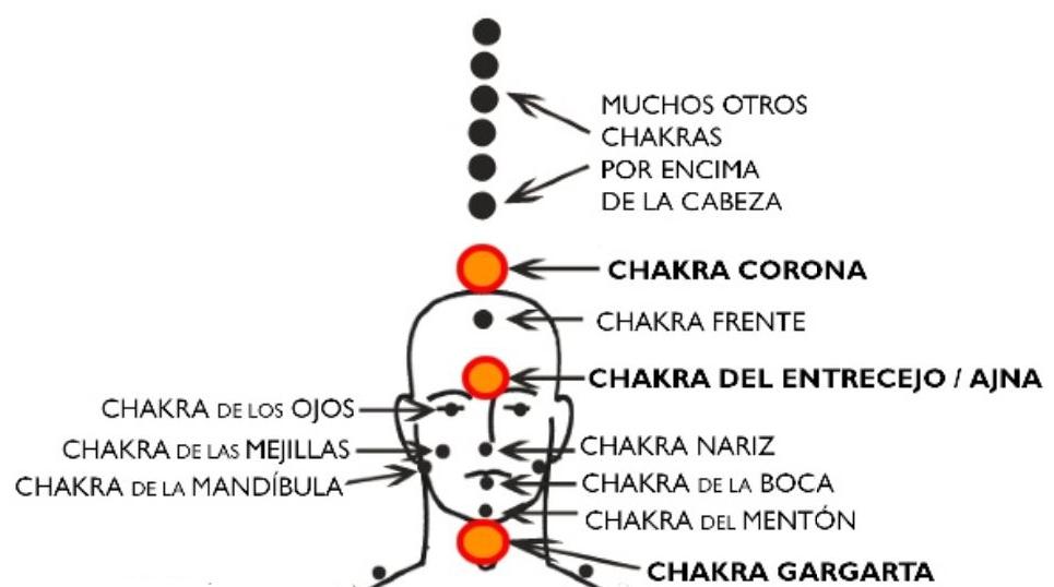 chakras cabeza
