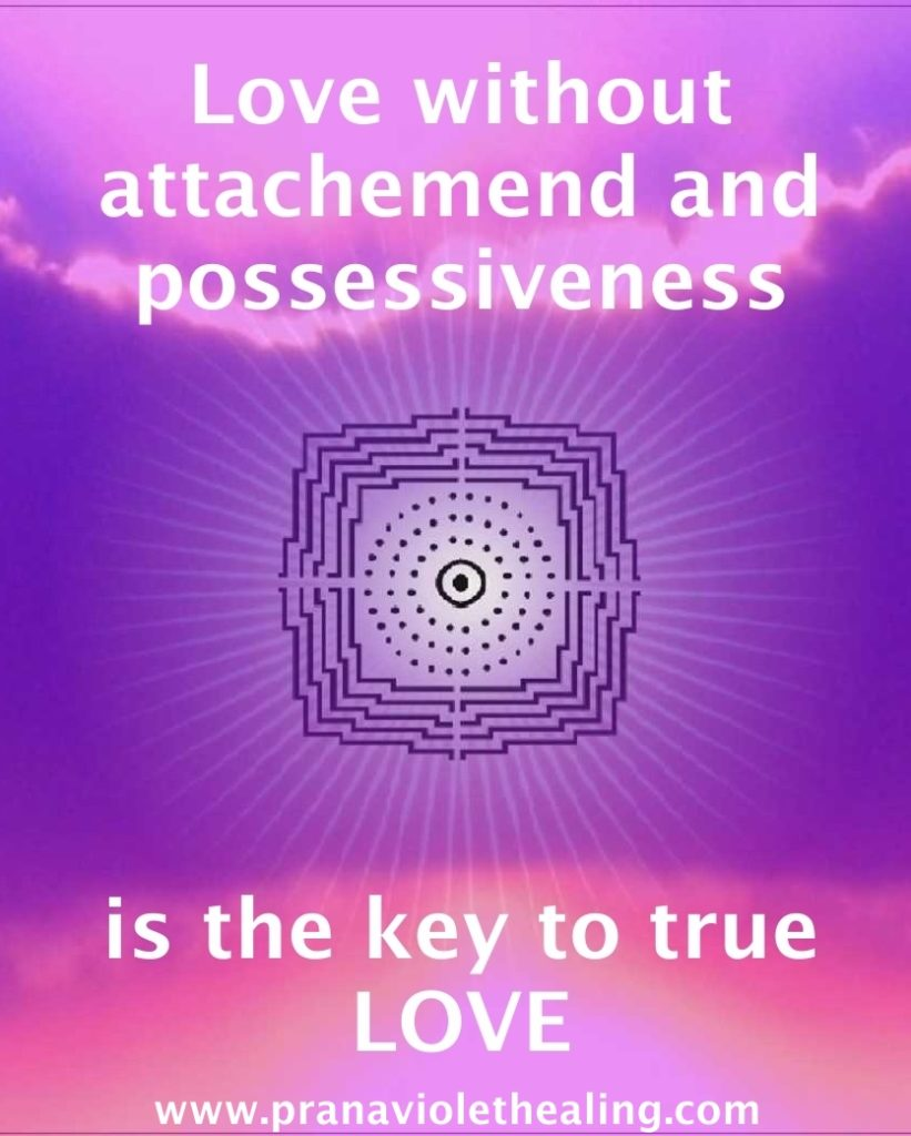 Love withput attachement - Prana Violet Healing - Sanacion Pranica Violeta