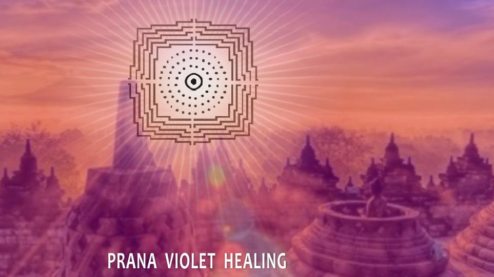 Borobudur - Prana Violet Healing - Sanacion Pranica Violeta