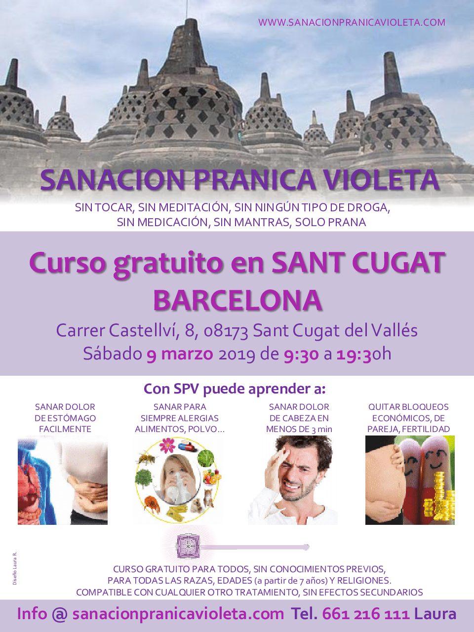 Curso en sant cugat barcelona espa a sanacion pranica - Trade center sant cugat ...