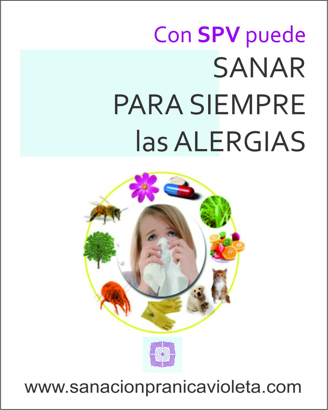 Con SPV puede sanar las alergias para siempre