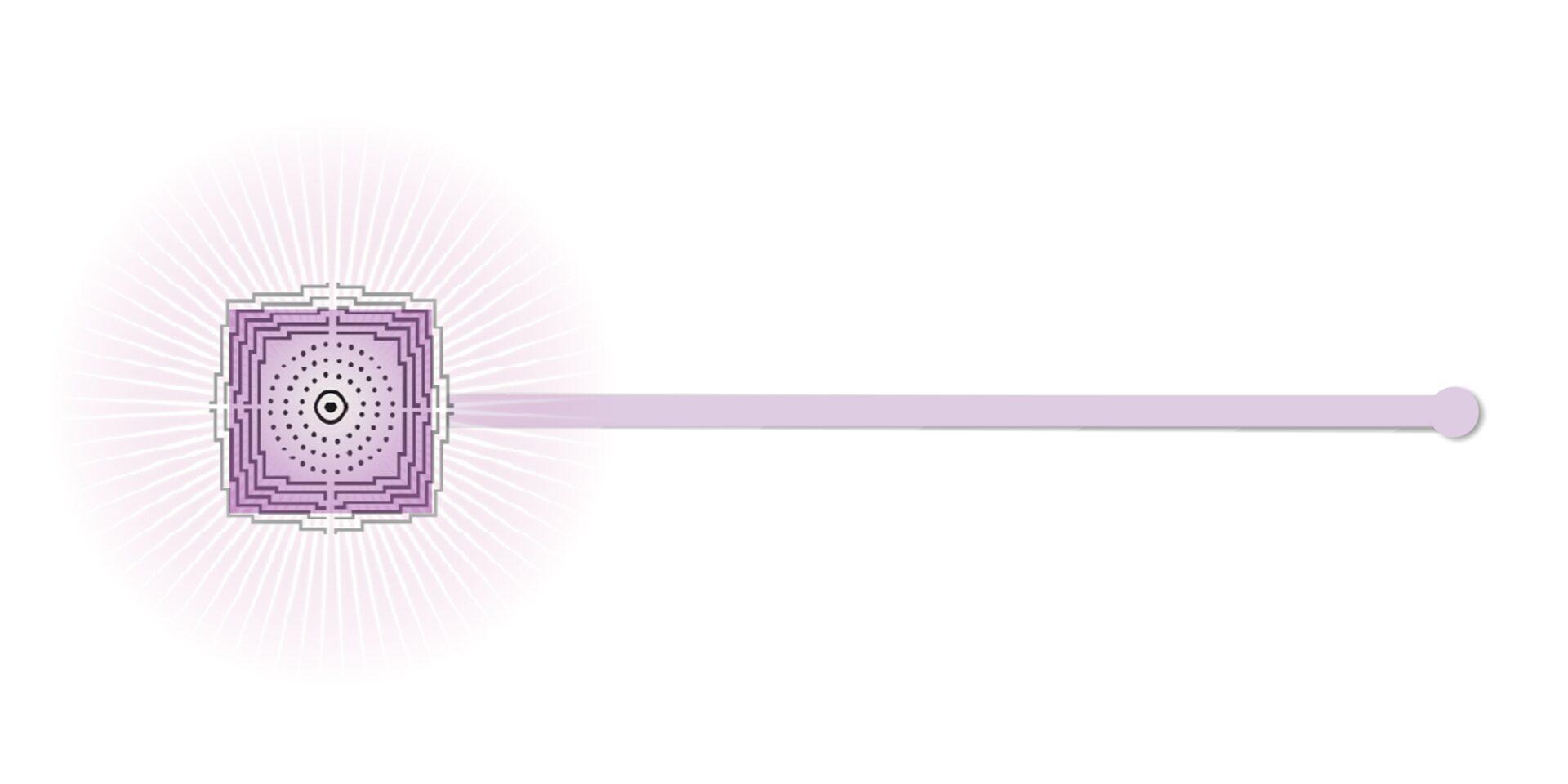varita sanacion paranica violeta